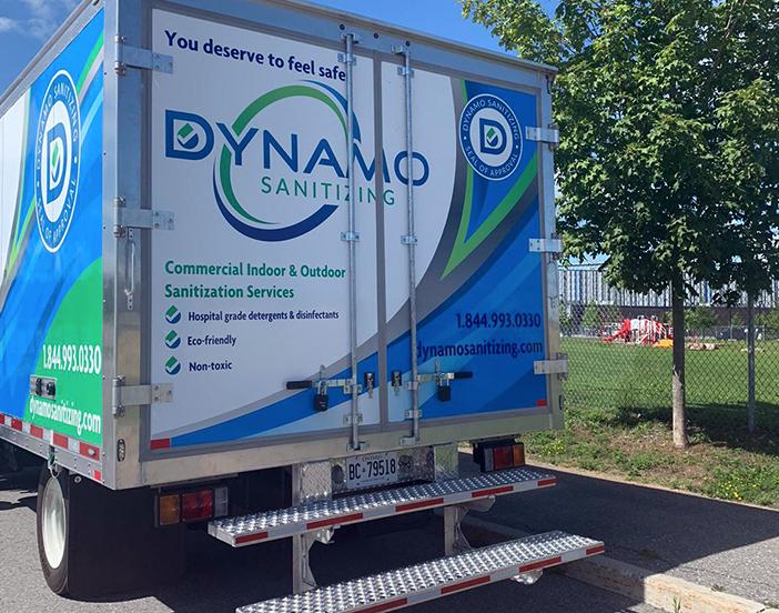 Dynamo Sanitizing Trucks